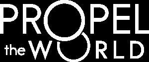 Propel the World logotype